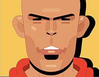 Various Soccer Illustrations