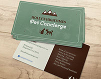 Pet Concierge Identity and Business Cards