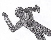 La caída del hombre de Metal