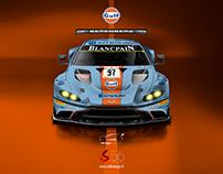 Aston Martin Vantage GT3 liveries