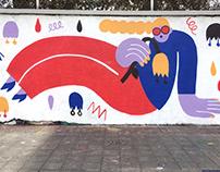 """Chiquita Banana"" Mural"