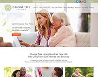 Orange Tree Living - Website Design