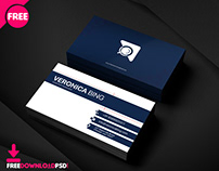 Assistant Manager Business Card PSD Template