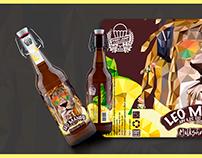 """Beer label """"LEO MANGO"""""""