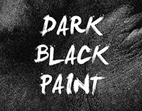 """Dark Black Paint"" Book Cover"