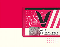 Vault Festival Website | 2018