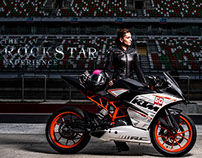 The Rockstar Experience : Neharika at Buddh Circuit