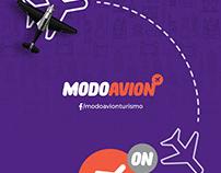 ModoAvión. Friendly travel agency