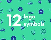 12 logo symbols