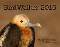 BirdWalker 2016 Calendar