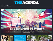 Art Direction, The Agenda Internet of Things Issue