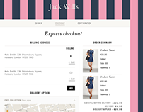 Jack Wills - Responsive UX website redesign