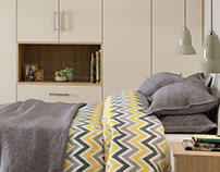 Luna Bedroom Project // Interior CGI Room Set