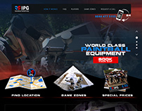 WEBSITE FOR PAINTBALL SHOOTING