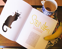 Magazine Spread: Steinlen