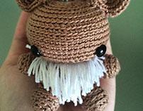 Eevee (crochet)
