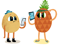 Characters for the Finnish Lifelong Learning Foundation