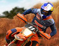 Anúncio ASW Racing - Bruno Crivilin - KTM / Redbull