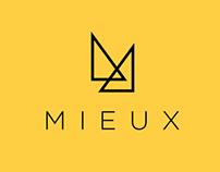 Identité visuelle de la boutique MIEUX