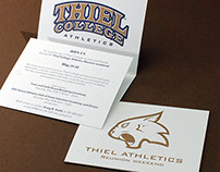 Athletics Reunion Invitation (Thiel College)
