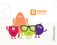 Web Design For Beezee Bodies   Project