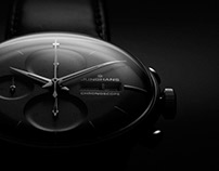 Junhgans Meister Chronoscope Automatic Watch