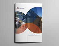 Brochure design project (australian company)