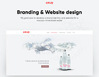 Mineralized Water Web Design