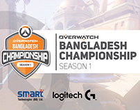 Overwatch BD Championship (logo, Visuals & Overlay)