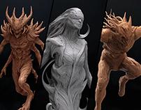 Concept sculpts
