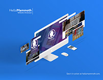 Hello Mammoth Website Redesign Showcase