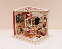 Artist Corner Miniature   Sắc Lemur 2019