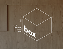 identidade visual Life in Box