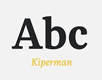 Kiperman Typeface