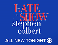 CBS The LATE SHOW with Stephen Colbert Topical Promos