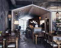 Modern LOFT Cafe