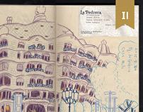 Sketch   travel at Spain