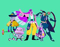 APOCALITE - Character design challenge
