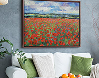 Floral Wall Art Ideas on Great BIG Canvas