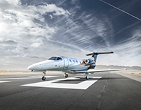 Phenom 100  Commercial Aviation Photography