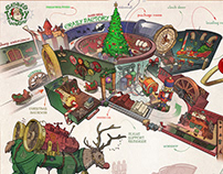 Santa's Toy Factory - Theme Park concept