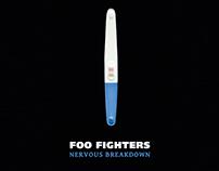 FOO FIGHTERS - Nervous Breakdown - poster tribute