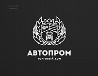 Дизайн логотипа магазина запчастей для спецтехники