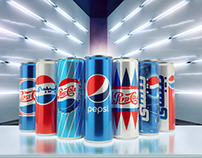 Pepsi Egypt legacy cans