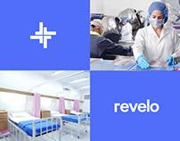 Revelo Hospital - Logo and brand identity design