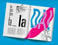 Editorial Tipográfico - A escrita é uma tecnologia