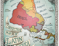 Corrective Map of Latin America