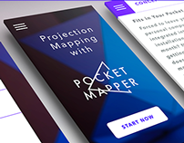 Pocket Mapper—app, web, UX, UI kit design