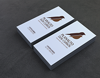 Planalto dos Curiós - Logo e Cartão de visita