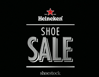 Heineken Shoe Sale